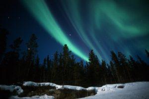 Aurora Nordlichter Yukon