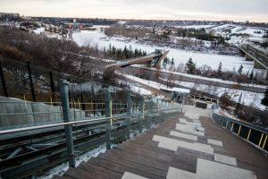 Funicular am River Valley Edmonton