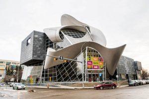 Kunstgalerie von Alberta von außen