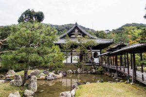 Garten und Kodai-ji-Tempel