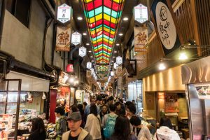 Gasse im Nishiki Markt