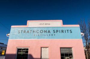 Strathcona Spirits Distillery von außen