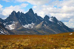 Blick auf Berge im Tombstone Territorial Park