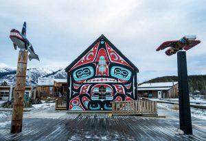 Kulturdorf als eine der Yukon Sehenswürdigkeiten in Barcross