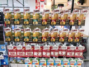 Sim Karten im Laden in kyoto