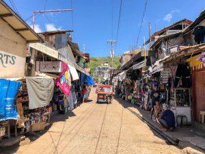 Straßen von Coron Philippinen