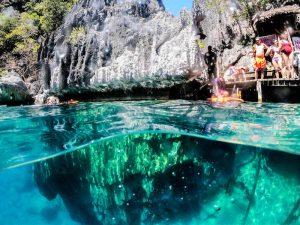 Barracuda Lake als eine der Coron Sehenswürdigkeiten in Palawan
