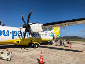 Flugzeug in Coron Palawan