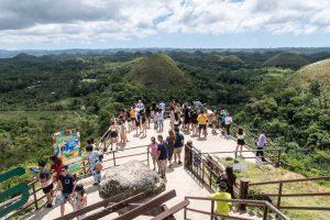 Aussichtsplattform Chocolate Hills Bohol
