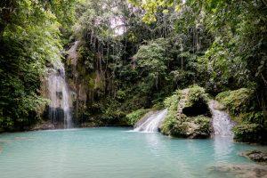 Cambais Wasserfälle der Insel Cebu (Philippinen)