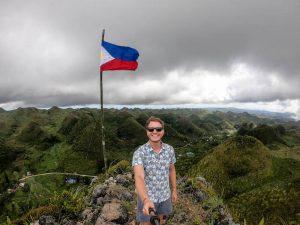Selfie auf casino peak Cebu