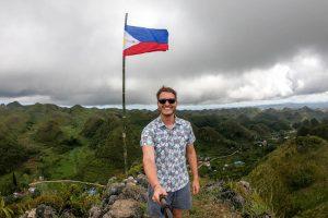backpacking philippinen Reiseroute zum caisino peak auf Cebu