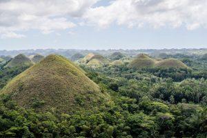 Blick auf die Chocolate Hügel Bohol