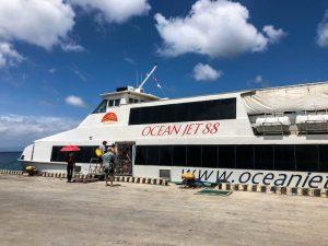 Fähre im Hafen von Bohol