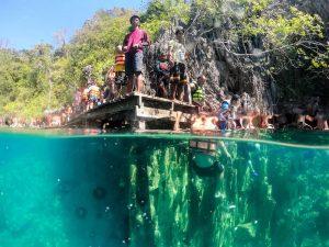 Dome Port für Aufnahmen Unter Wasser für die Packliste Philippinen