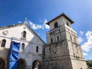 Baclayon Kirche als Bohol Sehenswürdigkeit