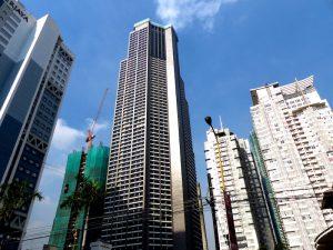 Makati in Manila gilt als sicher auf den Philippinen