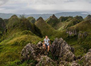 Panorama vom Osmena Peak Cebu
