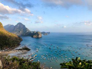 Küste von Palawan