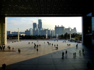 Sightseeing in Seoul mit Skyline