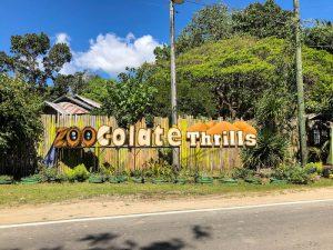 Vor dem Zoocolate Thrills Zoo Bohol