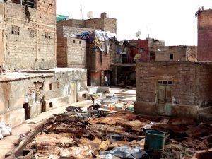 Gerberei beim Marrakesch Städtetrip