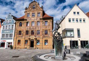 Fuchseck mit Haus Zimmerle in Ellwangen