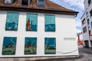Blick auf das Haus der Stadtgeschichte