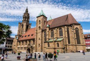 Kilianskirche als eine der Heilbronn Sehenswürdigkeiten von außen