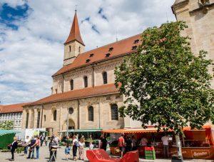 Marktplatz Ellwangen an der Jagst