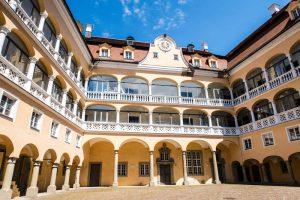 Innenhof vom Schloss