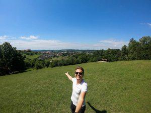 Selfie auf Aussichtspunkt
