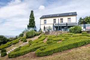 Gasthof mit Garten auf dem Wartberg