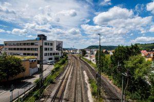 Bahngleise Schorndorf