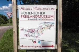 Infotafel Freilandsmuseum