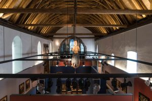 Blick von Empore der Johanniterkirche in Hall