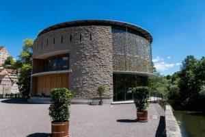 Neues Globe Theater von außen
