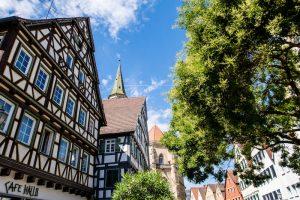 Häuser in Schorndorfs Altstadt