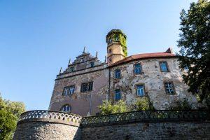 Außenaufnahme vom Schloss