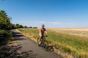Unterwegs auf dem Fahrrad