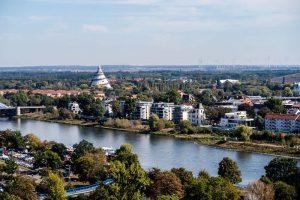Elbe und Elbauenpark
