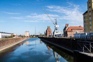 Am alten Hafengelände