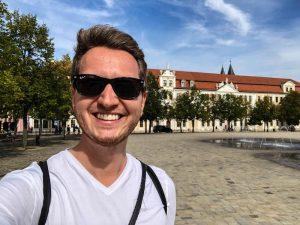 Selfie am Domplatz