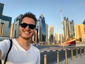 Selfie in Doha